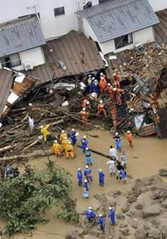 Mưa lũ bất thường tại Nhật Bản: Số người chết tăng nhanh chóng