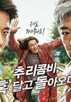 Kwon Sang Woo ăn mừng thành công của Thám tử gà mờ 2