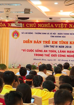 Diễn đàn trẻ em tỉnh Khánh Hòa lần thứ IV năm 2018