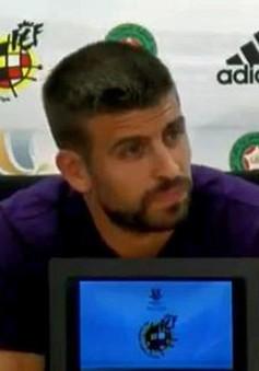 Pique tiết lộ muốn giã từ ĐT Tây Ban Nha từ lâu