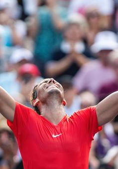 Rafael Nadal giành chức vô địch Rogers Cup lần thứ 4 trong sự nghiệp