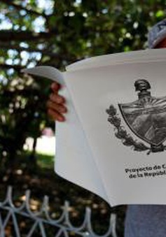 Cuba tham vấn người dân về Dự thảo Hiến pháp