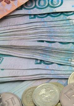 Ngân hàng Trung ương Nga can thiệp do đồng ruble sụt giá mạnh