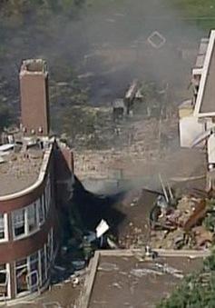 Nổ khí gas gây sập nhà tại Mỹ, 9 người bị thương