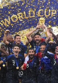 BXH FIFA tháng 8/2018: Pháp giữ vị trí thứ nhất, Đức tụt hạng thê thảm