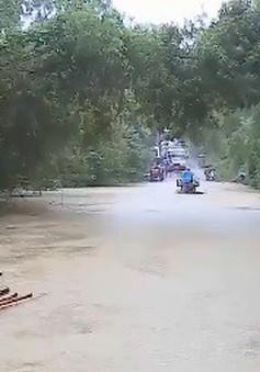 Ngập cầu tràn tại Bá Thước, Thanh Hóa
