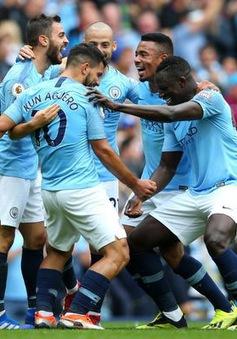 Thắng Huddersfield với tỷ số như set tennis, Man City trở lại vị trí số 1 Ngoại hạng Anh