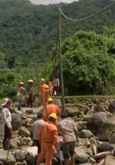 Sơn La khắc phục sự cố điện do lũ