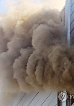 Cháy nhà máy sản xuất đồ điện tử ở Hàn Quốc, 9 người thiệt mạng