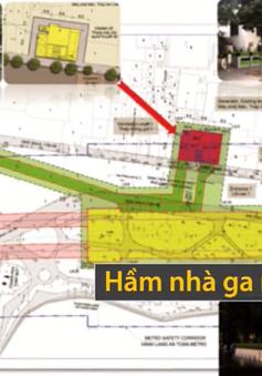 Hà Nội cảnh báo đường sắt đô thị số 2 xâm phạm không gian di tích Hồ Gươm
