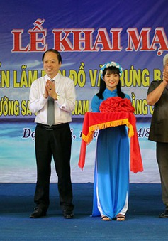 Lâm Đồng: Triển lãm bản đồ và trưng bày tư liệu Hoàng Sa - Trường Sa của Việt Nam