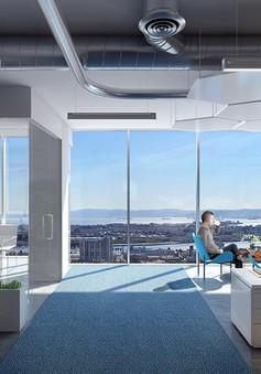Văn phòng rộng, thoáng sẽ giúp nhân viên giảm căng thẳng