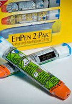FDA kéo dài ngày hết hạn của bút tiêm ngừa dị ứng EpiPen