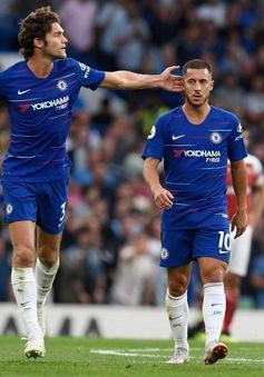 """Top 10 sao hay nhất Ngoại hạng 5 vòng đầu: """"Siêu nhân"""" Hazard trở lại"""
