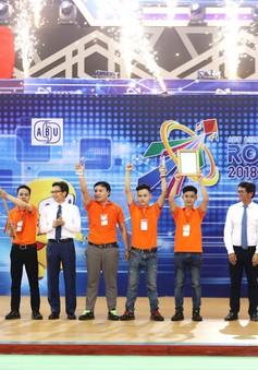 Thắng nghẹt thở Trung Quốc, Việt Nam 2 vô địch ABU Robocon 2018