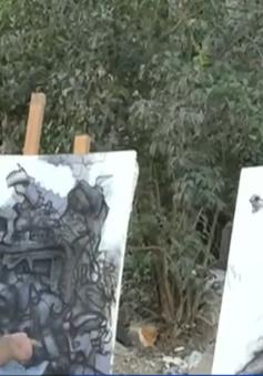 Syria: Dự án vẽ tranh kêu gọi tái thiết sau chiến tranh