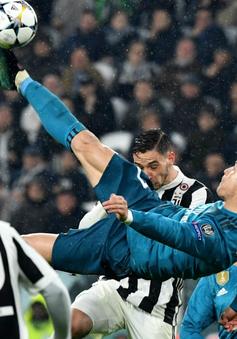 Siêu phẩm của C.Ronaldo giành giải Bàn thắng đẹp nhất châu Âu mùa giải 2017/18