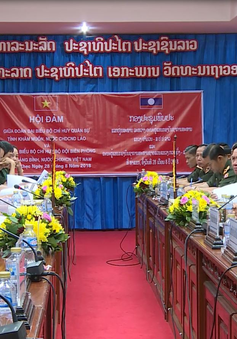Ký kết đảm bảo an ninh biên giới Việt - Lào