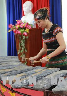 Đàn đá Lộc Hòa được công nhận là Bảo vật quốc gia