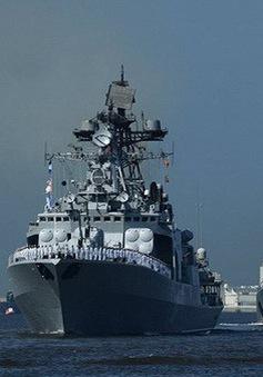 Nga triển khai lực lượng Hải quân đến Địa Trung Hải
