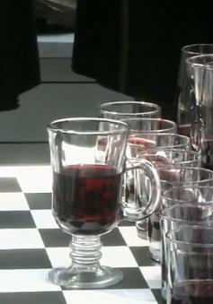 Thi đấu cờ vua kết hợp rượu tại Gruzia