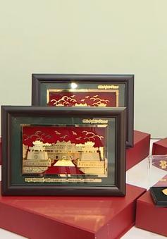 Thừa Thiên Huế công bố bộ sưu tập hàng lưu niệm và quà tặng