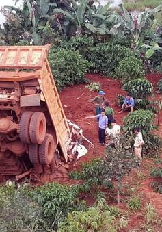 Đắk Nông: Xe ben lao xuống vực sâu, tài xế tử vong tại chỗ