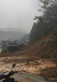Thiệt hại do mưa lũ tại Thanh Hóa