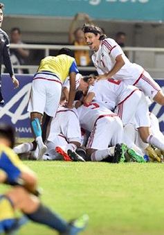 Olympic UAE từng thua liền 2 bại tướng của Olympic Việt Nam