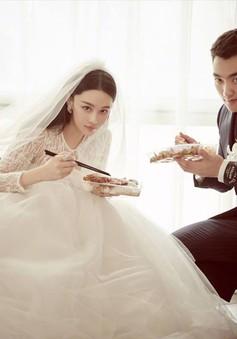 Đám cưới tuyệt đẹp của Trương Hinh Dư và chàng sĩ quan quân đội