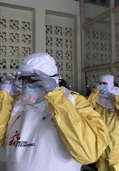 Dịch Ebola bùng phát trở lại ở Congo