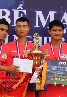 Bế mạc Giải bóng đá Cup VCCI năm 2018