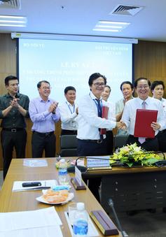Đài THVN và Bộ Nội vụ ký kết chương trình phối hợp thông tin, tuyên truyền về cải cách hành chính nhà nước giai đoạn 2018-2020