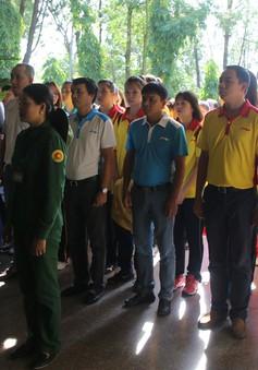 VTV Cup 2018: Lễ dâng hương ở Ngã Ba Đồng Lộc