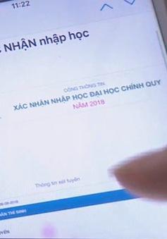 Nhiều trường đại học cho phép tân sinh viên nhập học online
