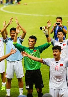 Hôm nay (1/9), VTV6 tiếp sóng trận tranh HCĐ giữa Olympic Việt Nam – Olympic UAE và chung kết bóng đá nam ASIAD 2018