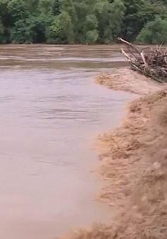 Nhiều xã miền núi Thanh Hóa bị cô lập do mưa lũ