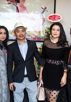 Diva Thanh Lam và nghệ sĩ saxophone Trần Mạnh Tuấn hội ngộ