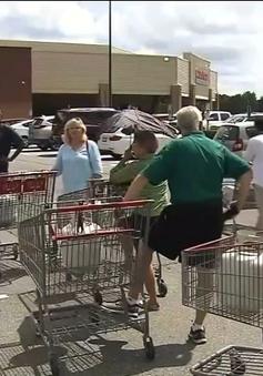 Người dân Mỹ đổ xô mua lương thực đối phó với siêu bão Florence