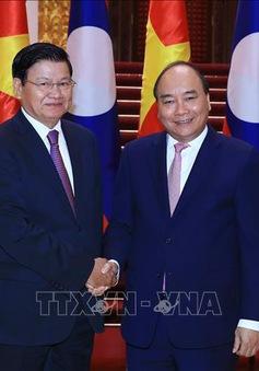 Thủ tướng Nguyễn Xuân Phúc tiếp Thủ tướng Lào