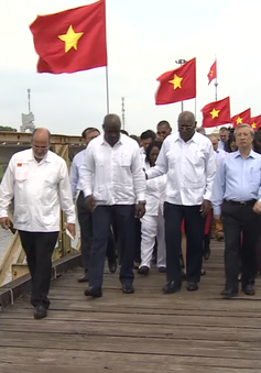 Đoàn đại biểu lãnh đạo Đảng, Nhà nước Cuba thăm Quảng Trị