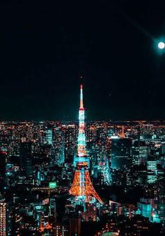 Thủ đô Tokyo, Nhật Bản rực rỡ về đêm