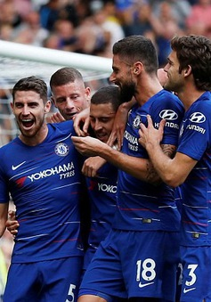 Bảng xếp hạng Ngoại hạng Anh: Chelsea lên ngôi đầu, Man Utd tiến gần top 4
