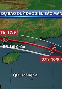 Từ 17-19/9, hoàn lưu bão gây mưa to khu vực Bắc Bộ và Bắc Trung Bộ