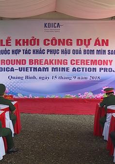 Quảng Bình: Khởi công dự án khắc phục hậu quả bom mìn sau chiến tranh