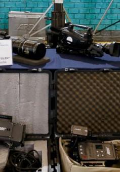Argentina triệt phá băng nhóm trộm cắp các thiết bị quay phim từ Hollywood