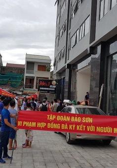 Chủ tịch TP. Vinh yêu cầu xử lý vi phạm tại Dự án Chung cư Bảo Sơn Complex