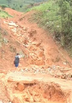 Hoàn lưu bão gây mưa lớn, nguy cơ lũ quét, sạt lở đất ở Bắc Bộ