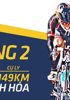 Lộ trình chặng 2 giải xe đạp quốc tế VTV Cup Tôn Hoa Sen 2018