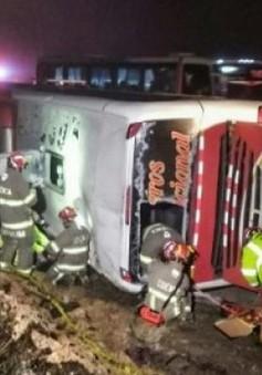 Tai nạn xe khách ở Ecuador, 48 người thương vong